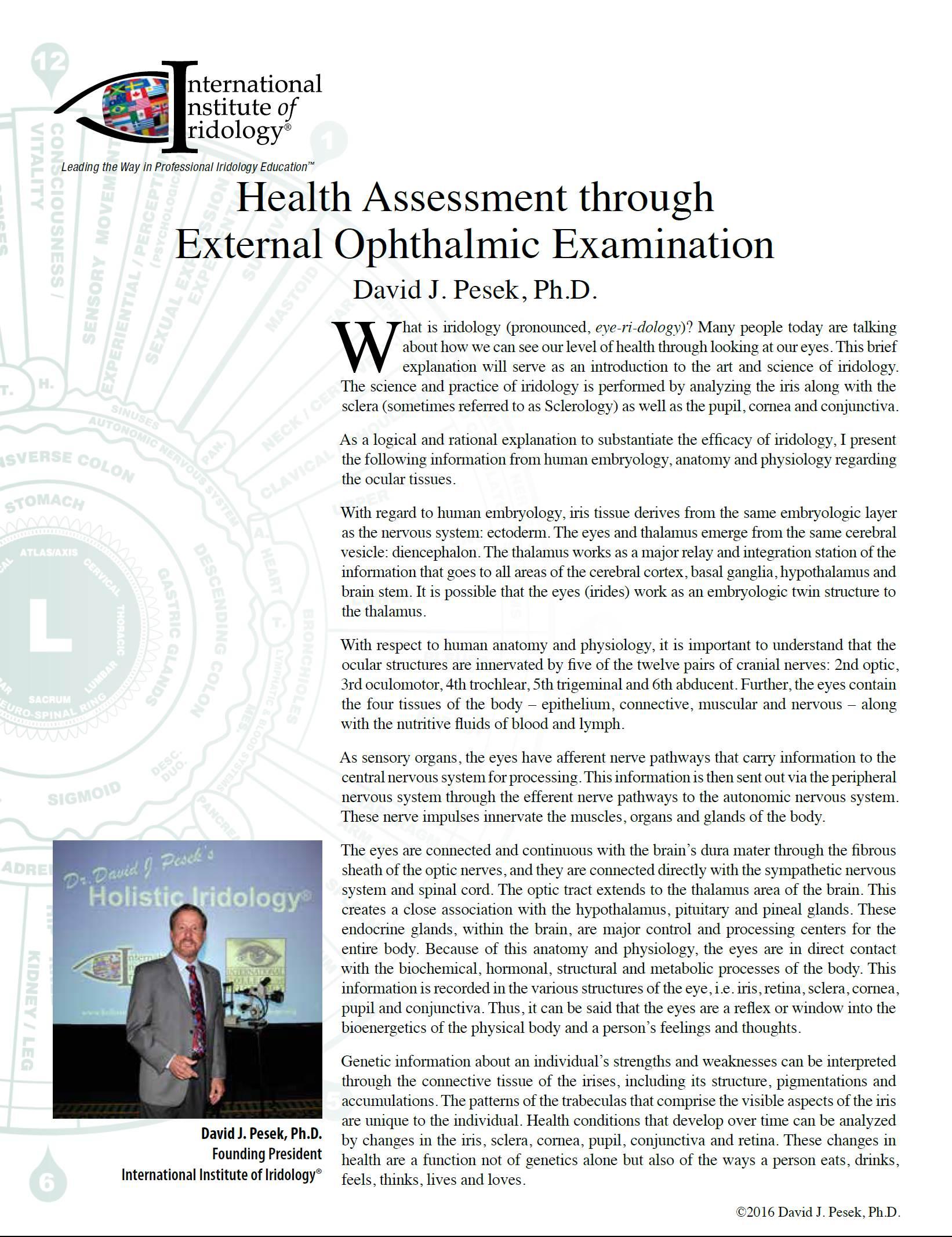 Health_Assessment_through_External_Ophthalmic_Examination,_an_article_by_David_J._Pesek,_Ph.D