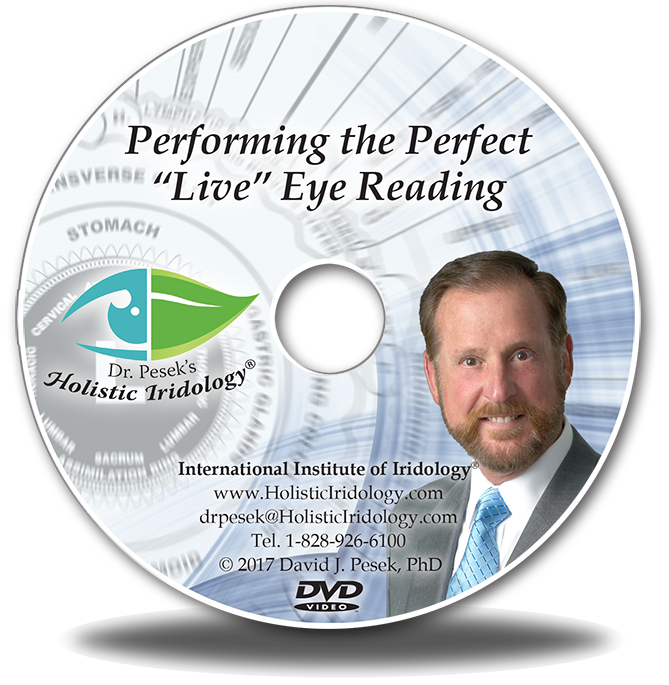 Perfect Live Eye Reading DVD face